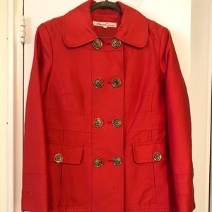 Kenneth Cole Double Breast Trench Coat